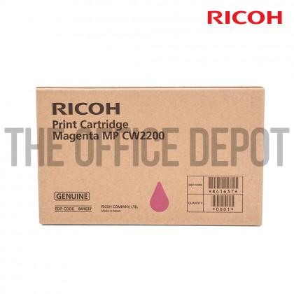 Print Cartridge C/M/Y Ricoh Aficio MPCW2200 Genuine 841636/841637/841638