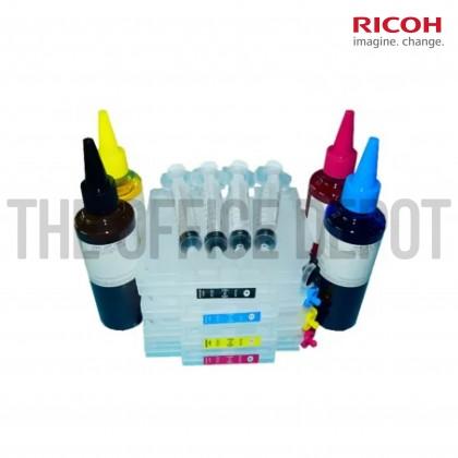 Pigment Ink Refill C/M/Y/K Ricoh GC41 Compatible