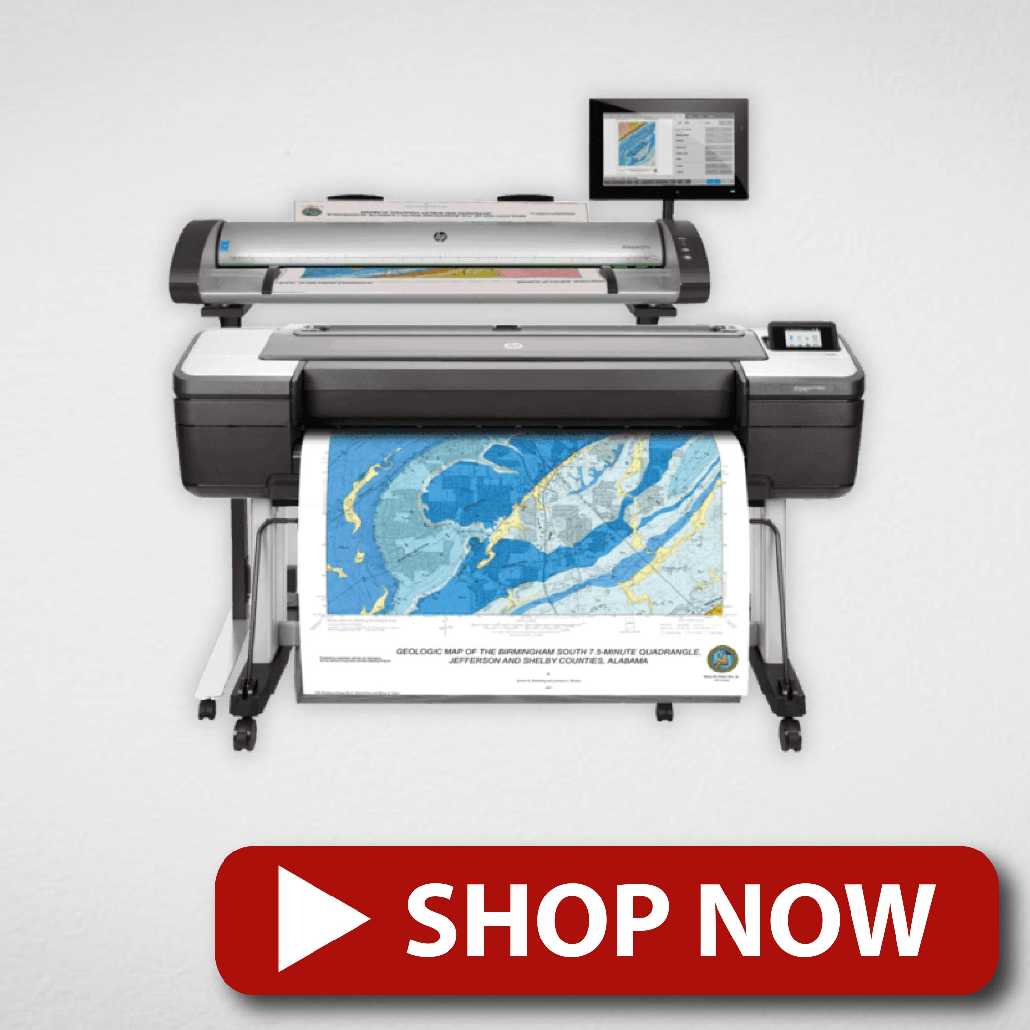 Multifunction 3 in 1 Colour Large Format Printer
